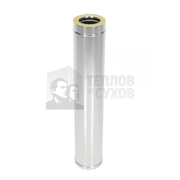 Труба Термо L 1000 ТТ-Р 304-0.8/304 D115/210* с хомутом