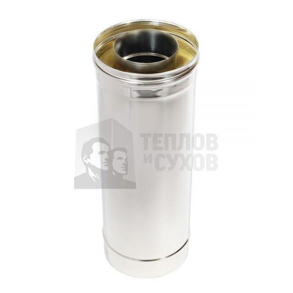 Труба Термо L 500 ТТ-Р 304-0.8/304 D120/220 с хомутом