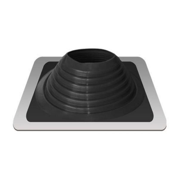Уплотнитель кровельный №8 силикон 178-330 mm чёрный (black)