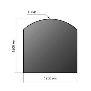 Лист напольный сталь 1200*1200*2 R641
